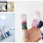 What I love today: finger dolls!