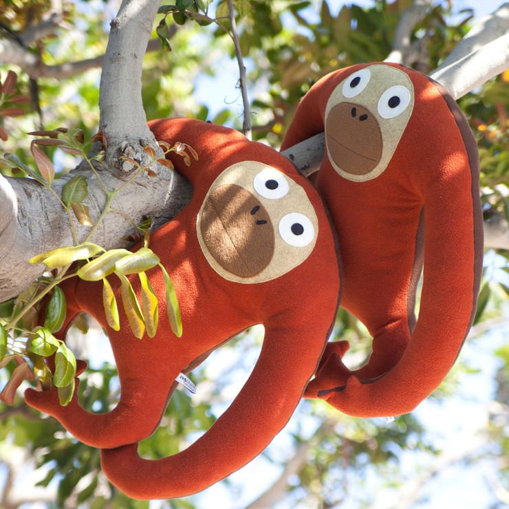 peluche per bambini grandi scimmia